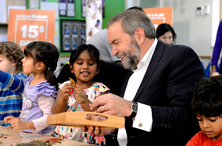 Tom Mulcair Tamils